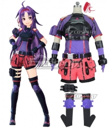 Sword Art Online: Fatal Bullet Konno Yuuki Cosplay Costume