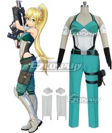 Sword Art Online: Fatal Bullet Leafa Kirigaya Suguha Leafa Cosplay Costume