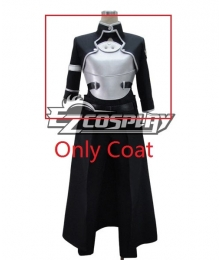 Sword Art Online II SAO Sodo Ato Onrain Gun Gale Online GGO Kirigaya Kazuto Kirito Cosplay Costume-Only Coat