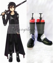 Sword Art Online Kirito Cosplay Shoes