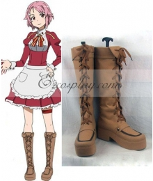 Sword Art Online Lisbeth Rika Shinozak Cosplay Boots