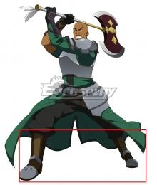 Sword Art Online SAO Agil Egiru Extra Edition Brown Shoes Cosplay Boots