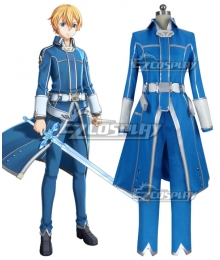 Sword Art Online SAO Alicization Lycoris Eugeo Cosplay Costume - B Edition