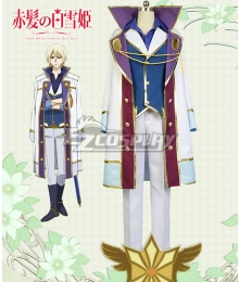 Snow White with the Red Hair kagami no Shirayukihime Izana Wistalia Izana Wishtaria Cosplay Costume