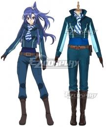 Symphogear season 5 Tsubasa Kazanari Cosplay Costume