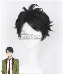 Tada Never Falls in Love Tada-kun wa Koi wo Shinai Mitsuyoshi Tada Black Cosplay Wig