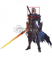 Tales Of Arise Alphen Silver Cosplay Wig