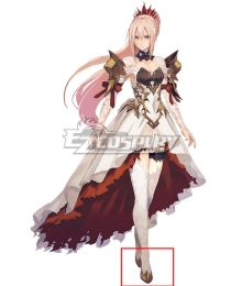 Tales of Arise Shionne Golden Cosplay Shoes