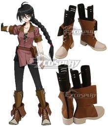 Tales Of Berseria Velvet Crowe Brown Shoes Cosplay Boots