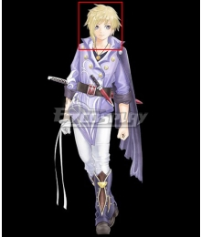 Tales of Crestoria Kanata Hjuger Golden Cosplay Wig