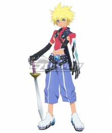 Tales of Destiny 2 Kyle Dunamis Cosplay Costume
