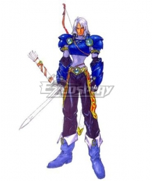 Tales of Destiny Garr Kelvin Cosplay Costume