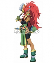 Tales of Destiny Mary Argent Cosplay Costume