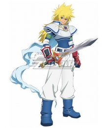 Tales of Destiny Stahn Aileron Cosplay Costume