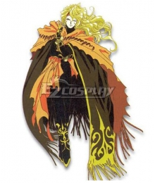 Tales of Phantasia Dhaos Cosplay Costume