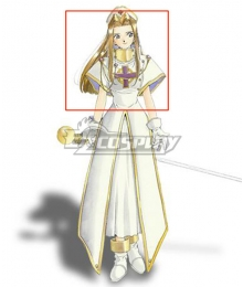 Tales of Phantasia Mint Adenade Golden Cosplay Wig