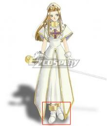 Tales of Phantasia Mint Adenade White Cosplay Shoes