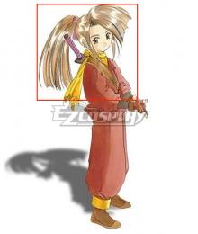Tales of Phantasia Suzu Fujibayashi Brown Cosplay Wig