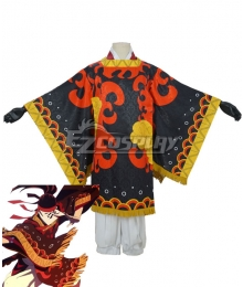 Demon Slayer Kimetsu no Yaiba Tanjuro Kamado Dance of the Fire God Hinokami Kagura Cosplay Costume