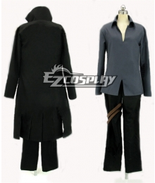 Black Cat Train Heartnet Cosplay Costume