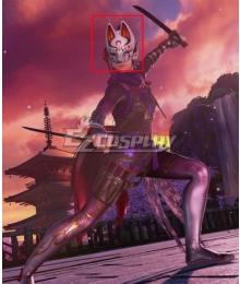 Tekken 7 Kunimitsu Black Red Cosplay Wig