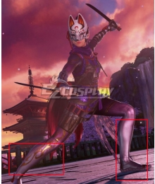 Tekken 7 Kunimitsu Silver Shoes Cosplay Boots