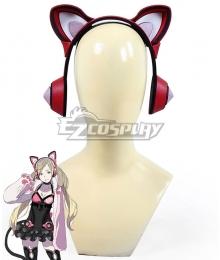 Tekken Lucky Chloe Headset Cosplay Accessory Prop