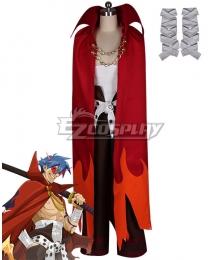 Tengen Toppa Gurren Lagann Kamina Cosplay Costume - Premium Edition