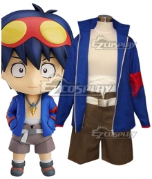 Tengen Toppa Gurren Lagann Simon Cosplay Costume - New Edition