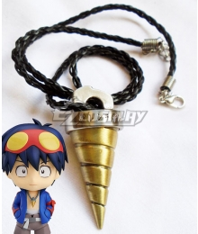 Tengen Toppa Gurren Lagann Simon Necklace Cosplay Accessory Prop
