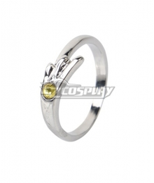 Tenki no Ko Weathering With You Hina Amano Silver Ring Cosplay Accessory Prop