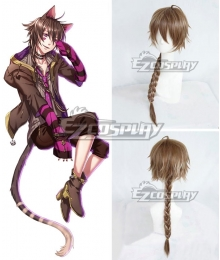 Yume 100 Sleeping Princes & The Kingdom Of Dreams Cheshire Cat Brown Cosplay Wig