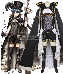 Yume 100 Sleeping Princes & the Kingdom of Dreams Avi Black Butler Ciel Phantomhive Cosplay Costume