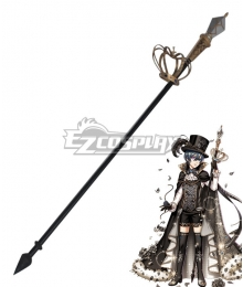 Yume 100 Sleeping Princes & the Kingdom of Dreams Black Butler Ciel Phantomhive Spear and Crown Cosplay Weapon Prop