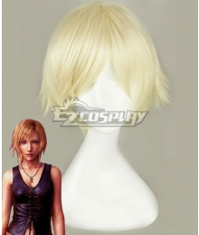 The 3rd Birthday Aya Brea Golden Cosplay Wig