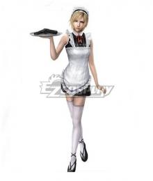 The 3rd Birthday Aya Brea Maid Cosplay Costume