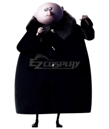 The Addams Family 2019 Uncle Fester Party Halloween Outfit Cosplay Costume