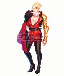 The Arcana Lucio Red Cosplay Costume