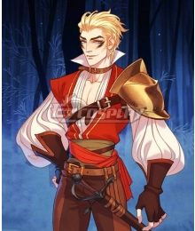 The Arcana Mercenary Lucio Outfit Cosplay Costume