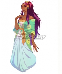 The Arcana Nadia Green Cosplay Costume
