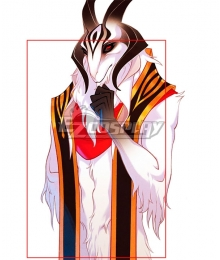 The Arcana The Devil Golden Black Scarf Cosplay Accessory Prop