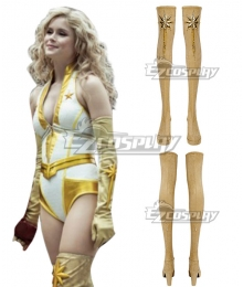The boys 2 starlight Golden Shoes Cosplay Boots