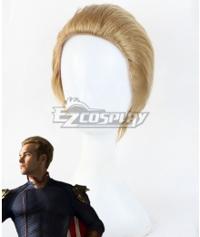 The Boys Homelander Golden Cosplay Wig