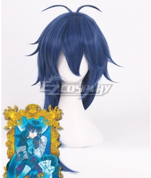 The Case Study of Vanitas Vanitas Blue Cosplay Wig