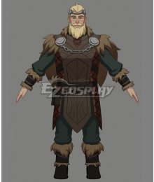 The Dragon Prince Florian Cosplay Costume