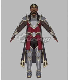 The Dragon Prince Harrow Cosplay Costume