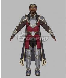 The Dragon Prince Harrow Cosplay Costume