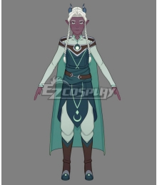 The Dragon Prince Lujanne Cosplay Costume