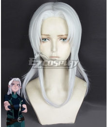 The Dragon Prince Rayla White Cosplay Wig