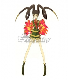 The Five Star Stories Empress of Flame Nein Cosplay Costume